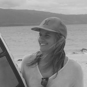 Melissa Panzarini, kitesurfing lesson instructor