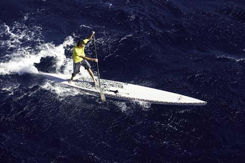 stand up paddle coast run