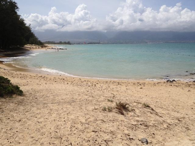 Central swim area at Kanaha Beach Park