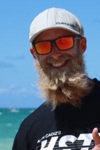 Chris Berquist, kitesurfing lesson instructor