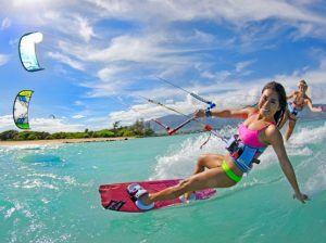 Maui kitesurfing lessons with HST