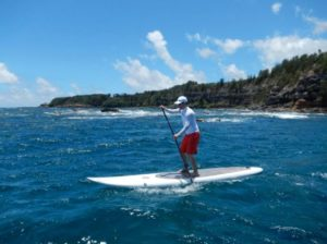 Maui stand up paddle lessons with HST